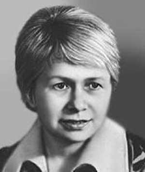 Советский композитор Александра Пахмутова